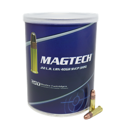 Magtech .22 LR 40GR LRN CP Copper Plated (in Cans) 22G